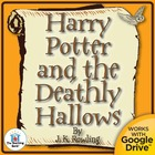 Harry Potter and the Deathly Hallows Novel Unit CD~Common