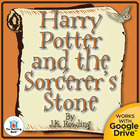 Harry Potter and the Sorcerer&#039;s Stone Novel Unit CD Common Core