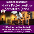 Harry Potter and the Sorcerer&#039;s Stone Reading Novel Activi