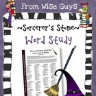 Harry Potter and the Sorcerers Stone Vocabulary Word Study
