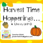 Harvest Time Happenings Literacy Unit!