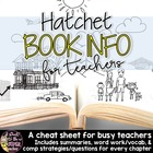 Hatchet Book Info Sheet