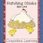 Hatching Chicks, Chickens, Farm Mini Unit, Science Learnin