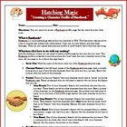 Hatching Magic Facebook Reading Comprehension Activity