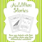 Have Students Write Their Own Addition Stories!