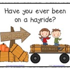 Have You Ever Been on a Hayride? Class Graph and Analysis FREEBIE