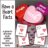 Have a Heart Math Facts Practice