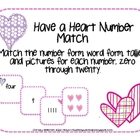 Have a Heart Number Match
