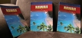 Hawaii group of 3 colored Reference books USA states geography
