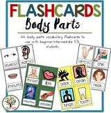 Health & Body {44 Flashcards & Games} ESL Adults & Grades 4-6