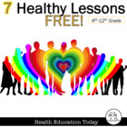 Health Curriculum Sampler FREE-10 Samples from My #1 Selli