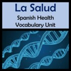 Health Vocabulary Lists, Activities, Crossword, Games, and