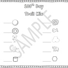 Healthy 100th Day Trail Mix (FREEBIE)