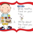 Healthy Bodies Kindergarten Literacy Centers