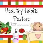 Healthy Habits Poster Set - Great for Back to School and H