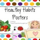 Healthy Habits Posters - Back to School - Health - Dots