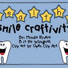 Healthy Smile Craftivity English & Spanish