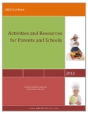 Healthy activities including nutrition, gardening, math, g