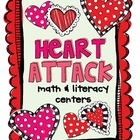 Heart Attack Math &amp; Literacy Centers