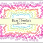 Heart Borders Freebie {Graphics for Personal & Commercial Use}