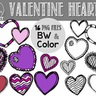 Heart Clipart {Freebie}
