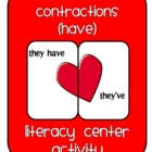 Heart Contractions (Have) Literacy Center