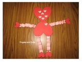 Heart Man Craft and Writing Activity