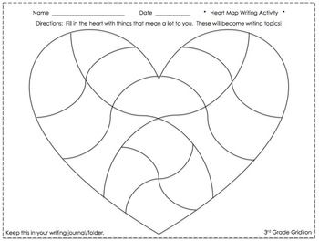 Heart Map FREEBIE!