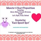 Heart &amp; Monster Prepositions!