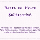 Heart to Heart Subtraction