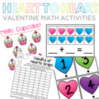 Heart to Heart Valentine Math Centers