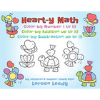 Heart-y Math to Color-by-Number, Addition, or Subtraction
