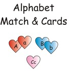 Hearts Alphabet Match & Cards eBook