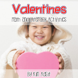 Hearts Friends and Valentines - Math and Literacy Games an