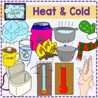 Heat and cold clipart