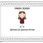 Helen Keller - Integrating Common Core Reading & Social Studies