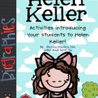 Helen Keller: Literacy Activities &amp; Graphic Organizers Bio