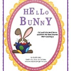 Hello Bunny Easter CVC and CVCe Sort and Write the Room