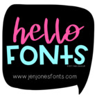 Hello Fonts - Personal &amp; Non-Commercial Use