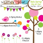 Hello Spring Set: Clip Art Graphics for Teachers