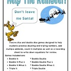 Help The Reindeer - Math Games
