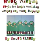 Help Wanted: Elves for Santa's Workshop Writing and Craft