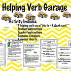 Helping Verb Garage Activity