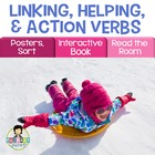 Helping Verbs, Linking Verbs Activity Pack