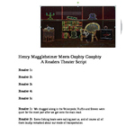 """Henry Meets Oophty-Goophty"" A Readers Theater Script [The"