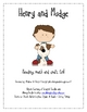 Henry and Mudge Literacy, Math and Craft Activities