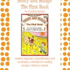 Henry and Mudge The First Book Literature Study Packet
