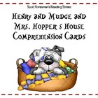 Henry and Mudge and Mrs. Hopper&#039;s House Comprehension Cards