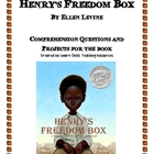&quot;Henry&#039;s Freedom Box&quot;, by E. Levine, Comp. Questions and Projects