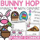 Here Comes Spring {Literacy and Math Centers}